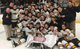 SJVHS Ice Hockey Team Wins The Handchen Cup