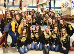 SJVHS Cheerleaders Visit NJ Veterans Home