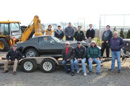 The SJVHS Classic Car Club is in the process of restoring a 1976 C3 Corvette