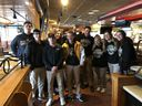 SJVHS Students Served Breakfast At A Pancake Fundraiser for AUSA