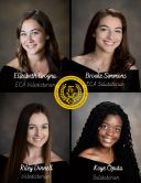 Congratulations to the Class of 2020 Valedictorians and Salutatorians