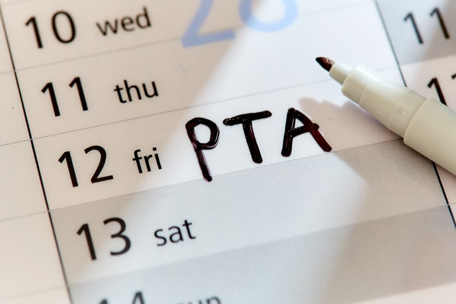Scheduled Date for PTA Meeting - Saint John Vianney High School