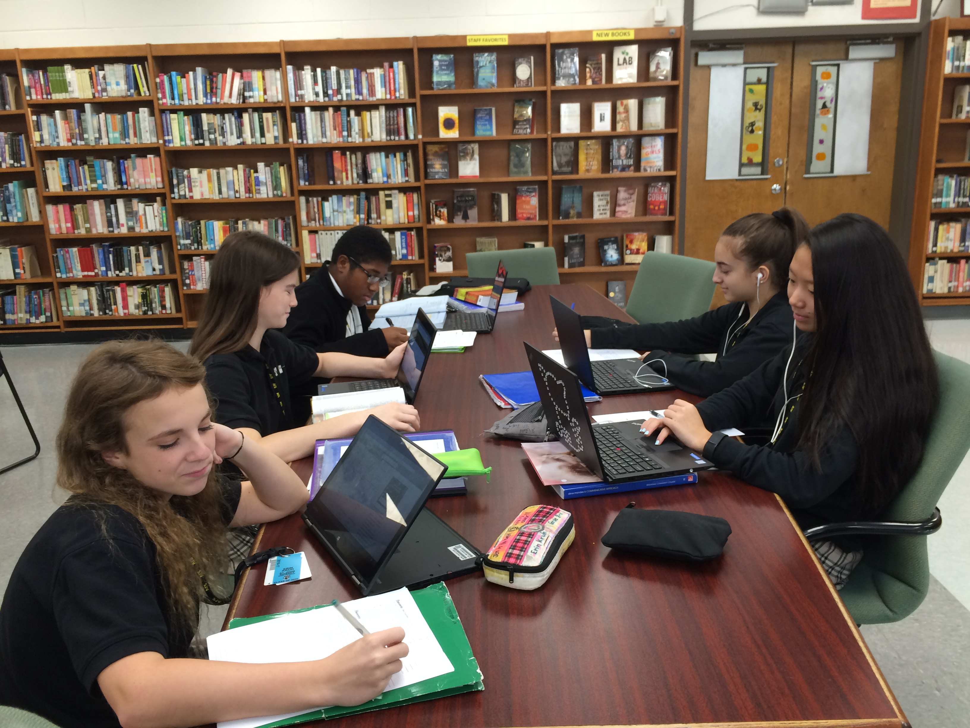 High School Library in Holmdel NJ - Saint John Vianney High School